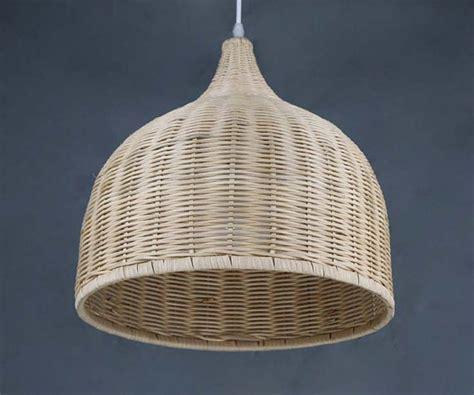 Rattan Light Pendant Woven Rattan Basket Pendant Lightshome Living