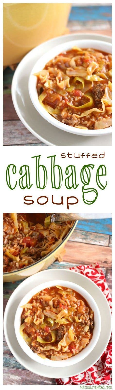 warm comfort food stuffed cabbage soup there is nothing like warm comfort