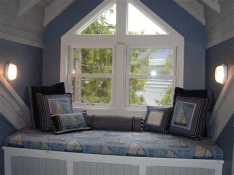Dormer Window Interior Nautical Theme Vacation Home Interiors