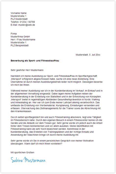 Bewerbungsschreiben Praktikum Hebamme Bewerbungsschreiben Sport Und Fitnesskauffrau Sport Und Fitnesskaufmann