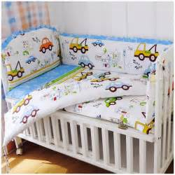 Baby Bedding Sets Bumper Promotion 6pcs Baby Care Bed Baby Crib Bedding Set Baby