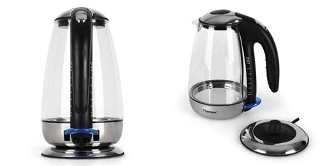Sa Idealife Automatic Electric Kettle 2 Cups Included Il 100n bestron glass electric kettle