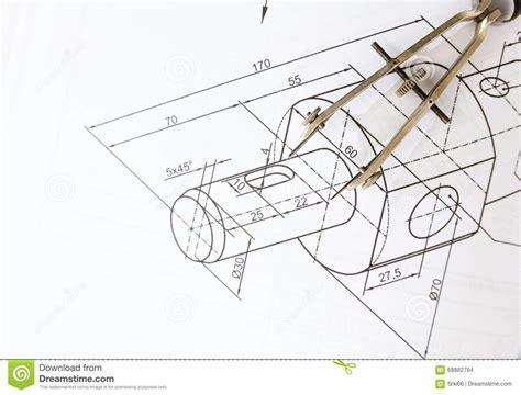 imagenes de simbolos tecnicos comp 225 s de dibujo t 233 cnico foto de archivo imagen de