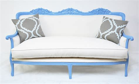 items similar to classic baby blue couch on etsy