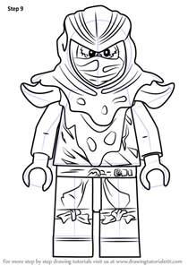 learn how to draw evil green ninja from ninjago ninjago