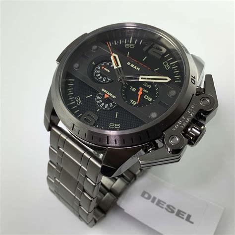 s gunmetal diesel ironside chronograph dz4363