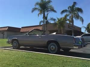 1984 Cadillac Eldorado Convertible For Sale 1984 Cadillac Eldorado Biarritz Convertible 2 Door 4 1l