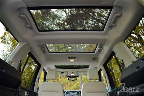 land rover lr4 interior sunroof 2014 land rover lr4 hse review web2carz