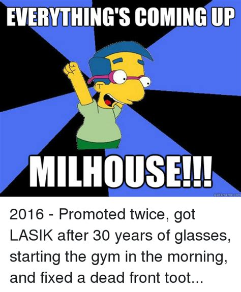 Millhouse Meme - 25 best memes about coming up milhouse coming up