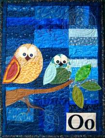 free pattern quot o quot is for owl wall hanging