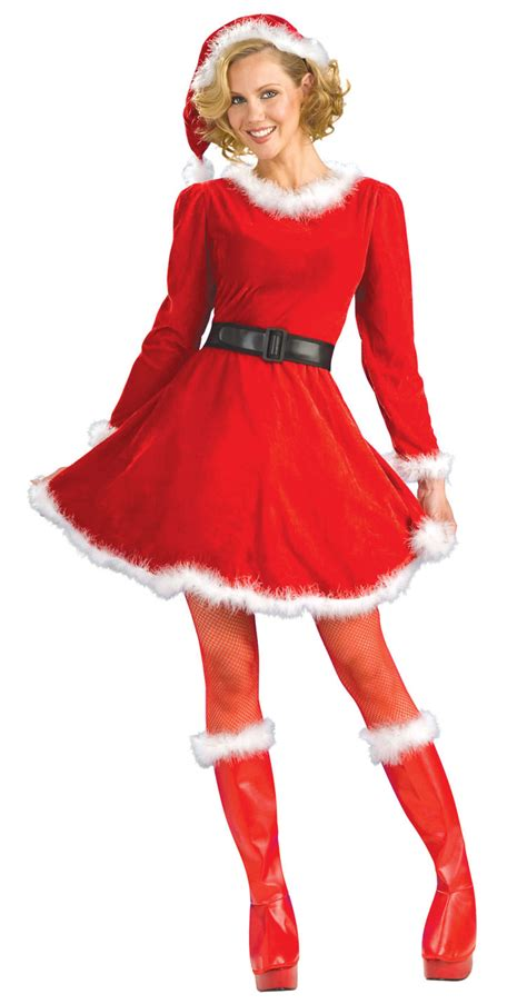 adult mrs claus christmas costume costume craze