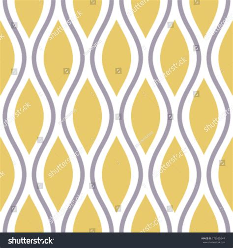 seamless oval pattern seamless oval doubles ogee background pattern stock vector