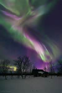 northern lights sweden pretty