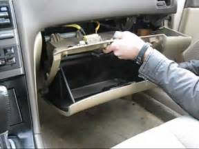 cabin air filter replacement nissan maxima youtube