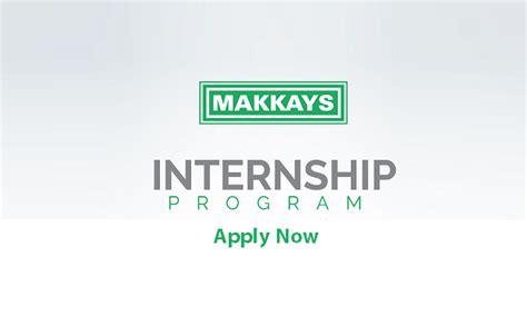 Mba Internships Sargodha by Makkays Internship Feb 2018