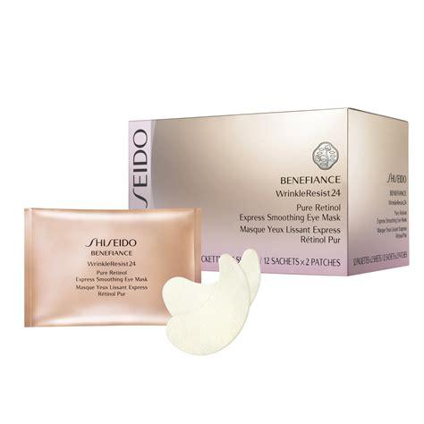 Shiseido Mask shiseido retinol express smoothing eye mask