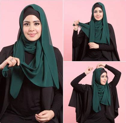 tutorial jilbab hoodie tutorial hijab layering simple ala risty tagor miulan store