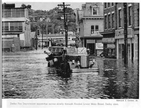 the flood of 1955 in connecticut stamfordadvocate