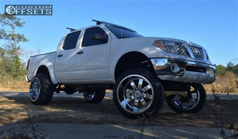 nissan frontier stance wheel offset 2005 nissan frontier hella stance 5