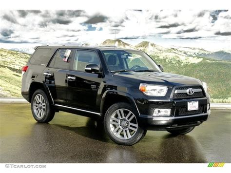 2011 Toyota 4runner Limited Black 2011 Toyota 4runner Limited 4x4 Exterior Photo