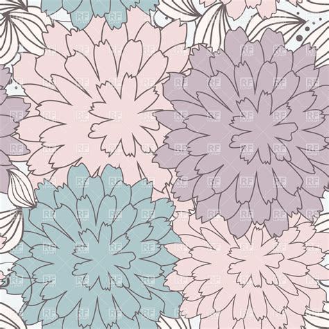 seamless pattern background clipart floral seamless pattern in pastel colors royalty free