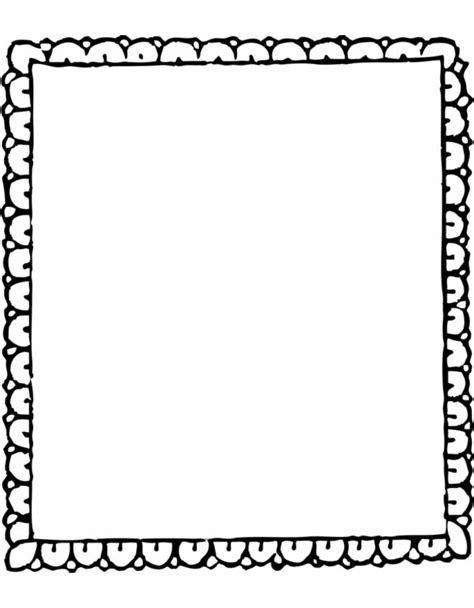 disegni per cornici disegno di cornice da colorare per bambini