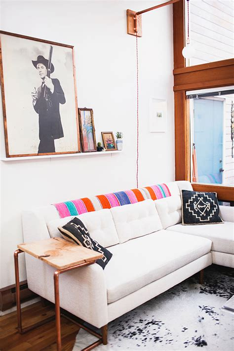 apartment living room tour our 1st place youtube a designer s gypsy bohemian seattle apartment glitter inc