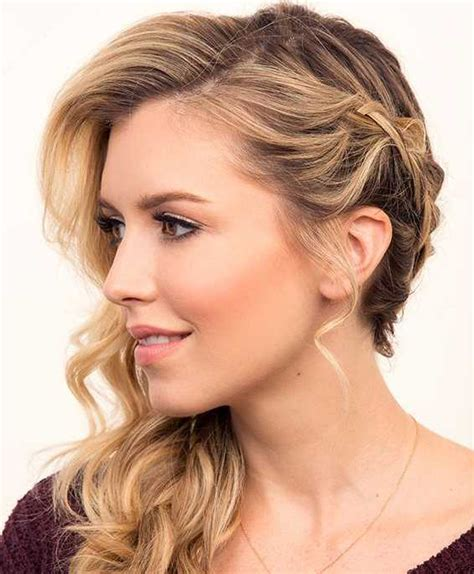 side bang braid hairstyles side swept hairstyles with bangs 2016 hairstylesco