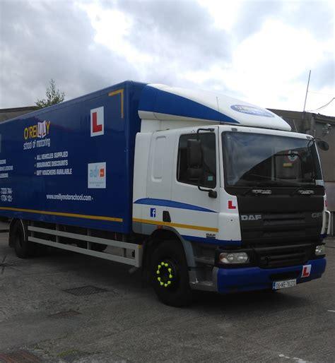 o reilly truck hgv driver dublin o reilly motor