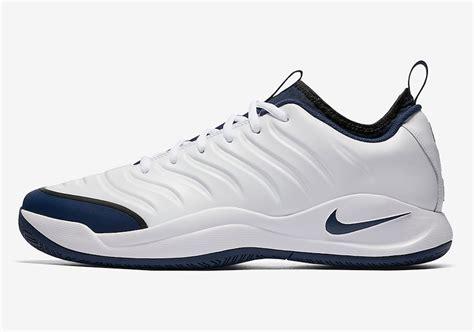 Ardiles Federer White Navy Badminton Shoes nike air zoom oscillate ltr 20th anniversary pack sneaker bar detroit