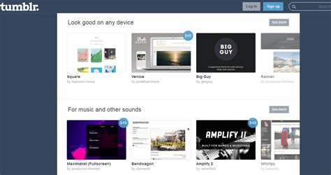 blogger themes like tumblr how to find new templates for tumblr blogs dashboard