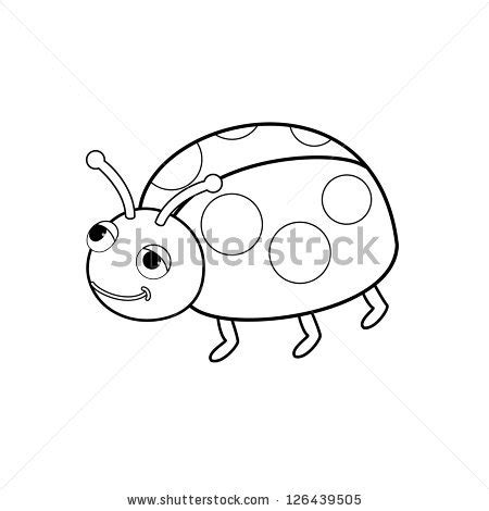 Ie8 Outline Bug by Stock Images Similar To Id 69521344 Ladybug Outline