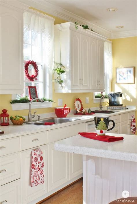 Yellow And Red Kitchen Ideas by 80 Cool Kitchen Cabinet Paint Color Ideas Noted List