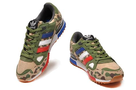Summerfincor Fashion Limited Green Army Sport Shoes cost effective adidas zx 750 running shoes camo army green khaki white black fashion
