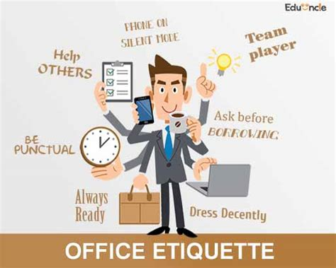 7 Work Etiquette Tips by Office Etiquettes Did You Knew About Them Learn The Do S