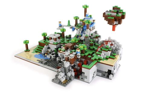 Set Lego onetwobrick set database lego 21102 minecraft micro world