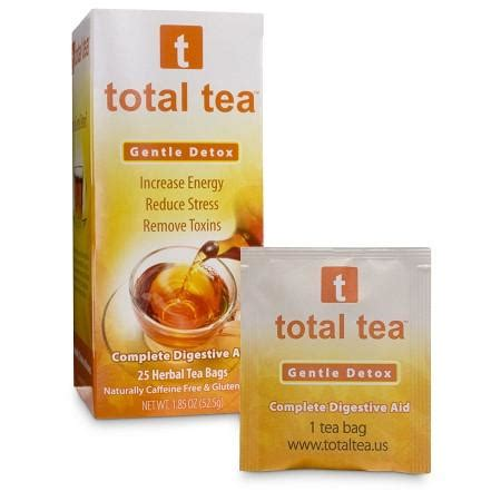 Total Tea Gentle Detox Directions by Products Carolina Weight Wellness