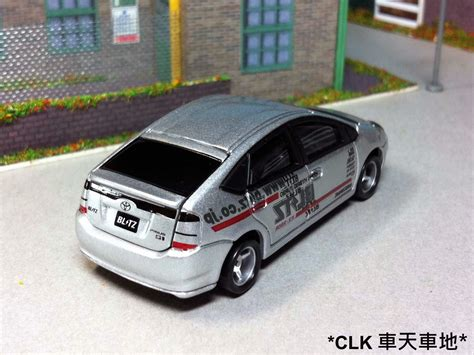 Tomica 106 Toyota Prius Tomy Biru clk s model car collection clk の車天車地 tomica tokyo auto