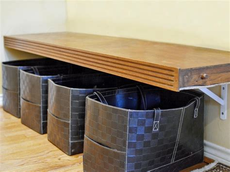 where to keep shoe rack in house shoe storage solutions hgtv