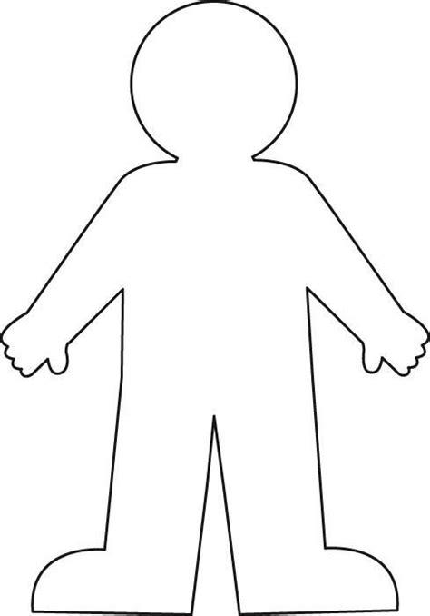 Body Outline Printable Medical Anatomy Print It Pinterest Medical Anatomy Outlines And Person Template For Kindergarten
