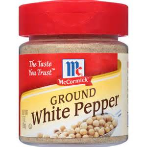 mccormick specialty herbs and spices ground white pepper