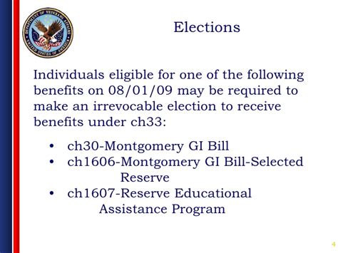 Using A Montgomery Gi Bill For Mba by Va Chapter 33