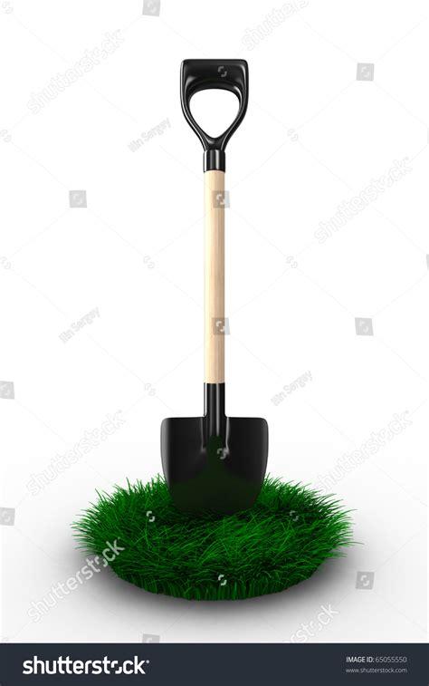 stock photo gardening tools isolated on white background shovel on white background garden tool isolated 3d image