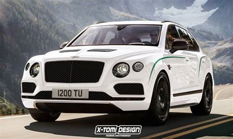 suv bentley white rendering bentley bentayga gt3 r