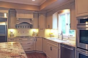 Kraftmaid White Kitchen Cabinets Kitchen Remodel With White Kraftmaid Cabinets Traditional Kitchen Cleveland By Jm Design