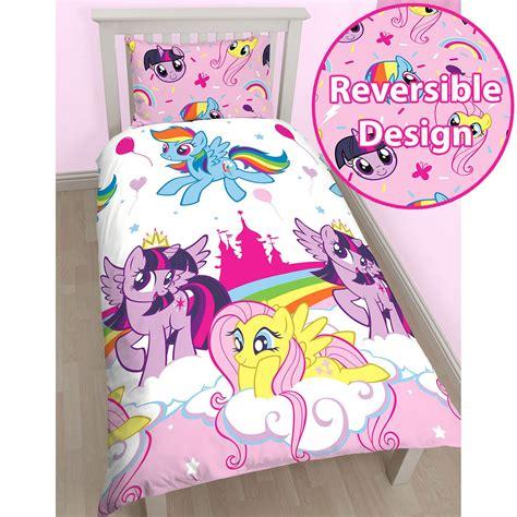 my little pony bedroom wallpaper my little pony equestria single duvet cover set kids