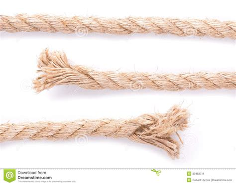 An End To The Rope rope texture stock image image 30483711