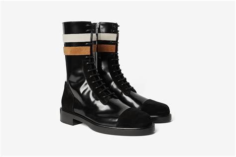raf simons stripes boots what drops now