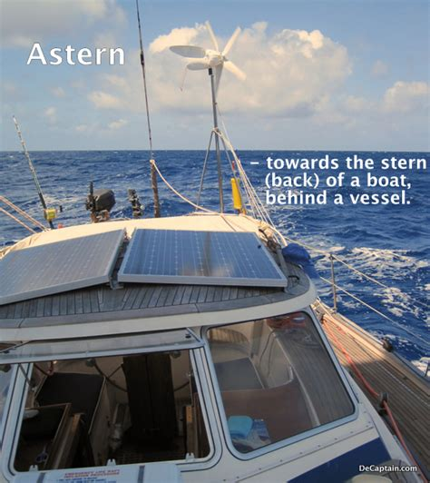 stern definition boat sailing terms nautical definitions