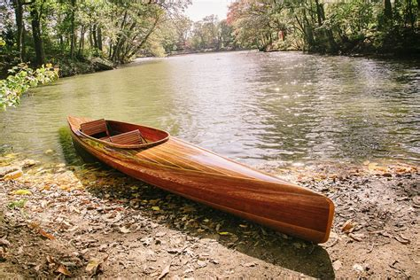 Handmade Wooden Kayak - made wooden kayak micro bootlegger design by